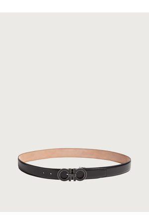Salvatore Ferragamo Men Adjustable Gancini belt