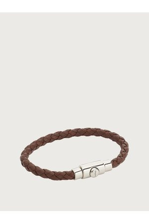 Salvatore Ferragamo Men Braided bracelet - size S