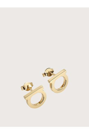 Salvatore Ferragamo Women Large Gancini earrings