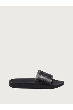 Salvatore Ferragamo Men Gancini slide Size 4