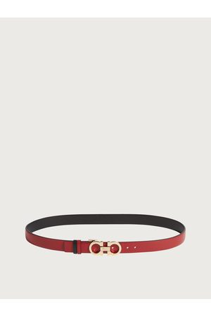 Salvatore Ferragamo Women Adjustable and Reversible Gancini Belt