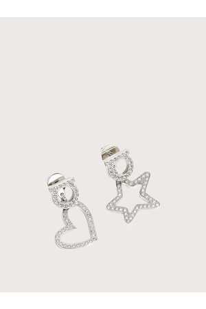 Salvatore Ferragamo Women Gancini earring with crystals