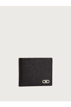 Salvatore Ferragamo Men Gancini wallet with coin pocket