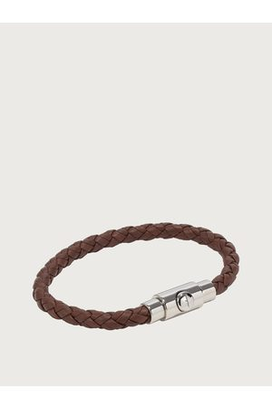 Salvatore Ferragamo Men Braided bracelet - size L