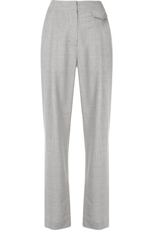 3.1 Phillip Lim Chambray wide-leg tailored trousers