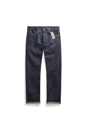 RRL Men Straight - Straight Fit Selvedge Jean
