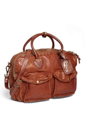 RRL Leather Cargo Bag