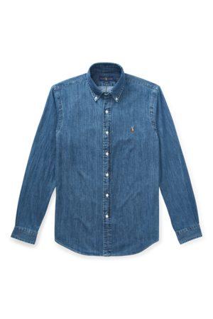 Polo Ralph Lauren Men Casual - Slim Fit Denim Sport Shirt