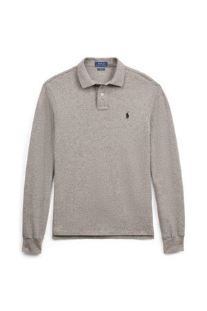 Polo Ralph Lauren Men Polo Shirts - Slim Fit Mesh Long-Sleeve Polo