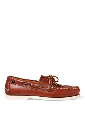 Polo Ralph Lauren Merton Leather Boat Shoe