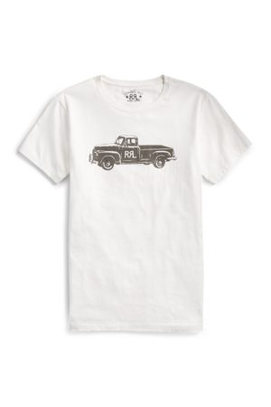 RRL Men T-shirts - Truck-Graphic T-Shirt