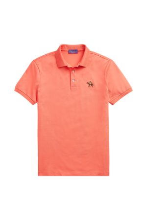 Ralph Lauren Men Polo Shirts - Custom Slim Fit Pique Polo
