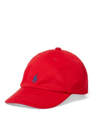 Ralph Lauren Baby Hats - Cotton Chino Baseball Cap