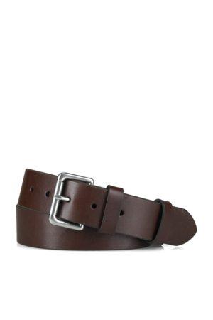 Polo Ralph Lauren Men Belts - Leather Roller-Buckle Belt