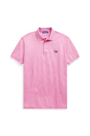 Ralph Lauren Men Polo Shirts - Custom Slim Fit Pique Polo