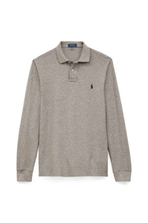Polo Ralph Lauren Men Polo Shirts - Custom Slim Long-Sleeve Polo