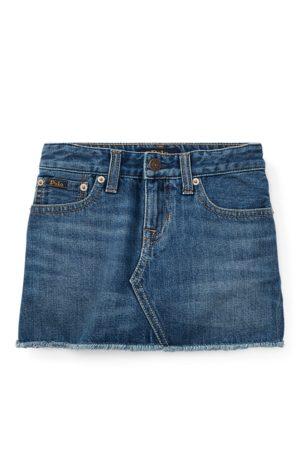 Ralph Lauren Girls Denim Skirts - Denim 5-Pocket Skirt