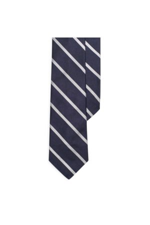 Polo Ralph Lauren Striped Silk Repp Narrow Tie