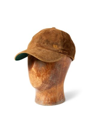 RRL Suede Ball Cap