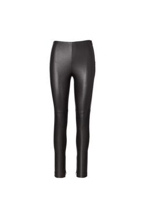 Ralph Lauren Eleanora Stretch Leather trouser
