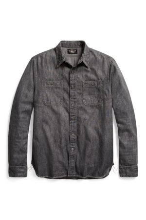 RRL Denim Workshirt