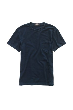RRL Indigo Cotton Jersey T-Shirt