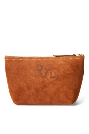 RRL Roughout Suede Pouch