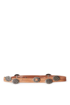 Polo Ralph Lauren Women Belts - Concho Leather Wrap Belt