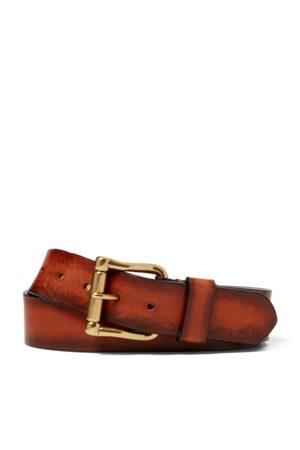 Ralph Lauren Men Belts - Vachetta Leather Belt