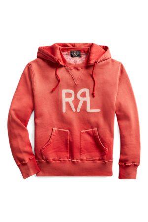 RRL Logo Fleece Hoodie