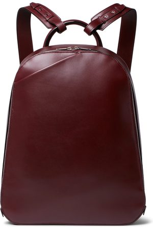 VALEXTRA My Logo Leather Backpack