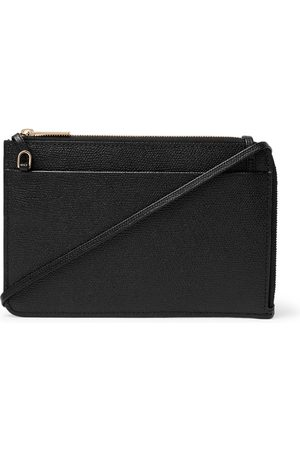 VALEXTRA Full-Grain Leather Pouch