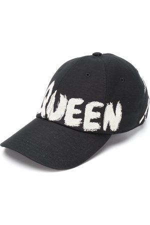 Alexander McQueen Logo print baseball cap
