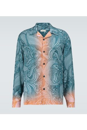 DRIES VAN NOTEN Dip-dye printed shirt