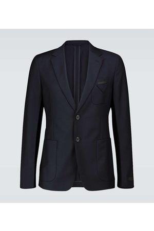 Prada Wool and mohair-blend blazer