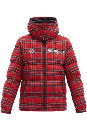 Moncler Mayak Oversized Tartan-flannel Quilted Down Jacket - Mens