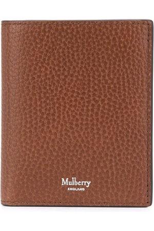 MULBERRY Men Purses & Wallets - Logo-stamp tri-fold wallet