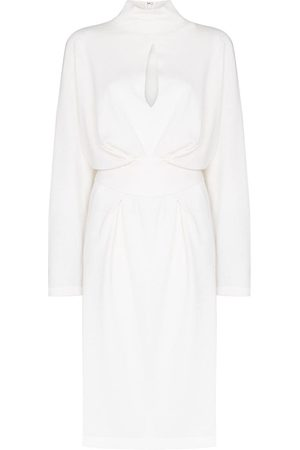 Tom Ford Women Knitted Dresses - Belted cashmere dress