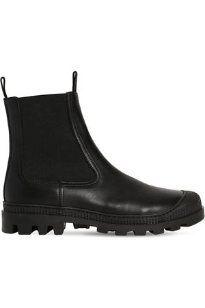 Loewe Women Chelsea Boots - 30mm Chelsea Leather Boots