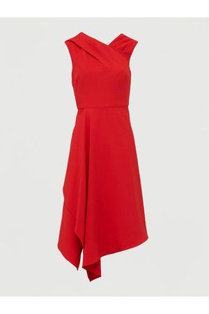 Very Mila Draped Skirt Prom Dress