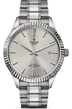 TUDOR Style Stainless Steel Watch 41mm