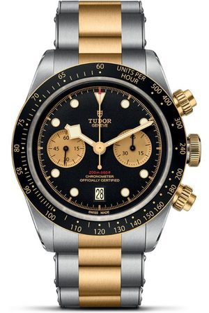 TUDOR Bay Chrono Stainless Steel and Yellow Gold Watch 41mm