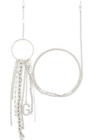 Gentle Monster Metallic Fall Rings SV glasses chain