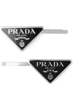 Prada Set of two hair clips