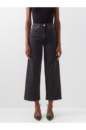 Totême Women Wide Leg Trousers - Flair High-rise Wide-leg Jeans - Womens