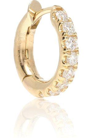SPINELLI KILCOLLIN Women Earrings - Mini Micro Hoop Pavé 18kt and diamond earring