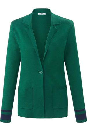 Peter Hahn Knitted blazer in 100% cotton multicoloured size: 10