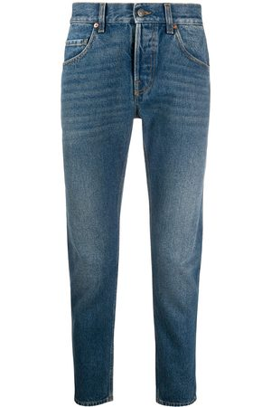 Gucci Cropped straight-leg jeans