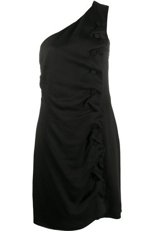 Giorgio Armani 1990s one shoulder dress