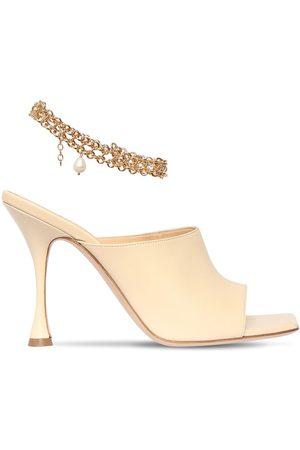 MAGDA BUTRYM Women Sandals - 80mm Leather Sandals